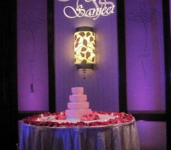 Gobo Projekce Projection178 Svatba Wedding