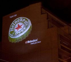Gobo Projekce Projection217 Outdoor Venkovni