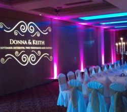 Gobo Projekce Projection273 Svatba Wedding