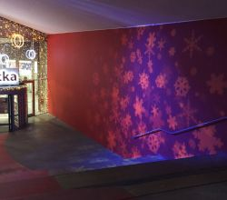 Gobo Projekce Projection8 Decoration Snowflakes